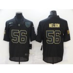 Nike Colts #56 Quenton Nelson Black 2020 Salute To Service Limited Jersey