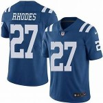 Nike Colts #27 Xavier Rhodes Blue Vapor Untouchable Limited Jerse