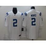 Nike Colts #2 Carson Wentz White Vapor Untouchable Limited Jersey