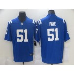 Indianapolis Colts #51 Kwity Paye Blue Vapor Limited Jersey