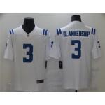 Indianapolis Colts #3 Rodrigo Blankenship White Vapor Limited Jersey