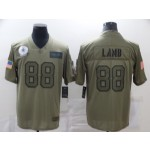 Nike Cowboys #88 Ceedee Lamb Camo Stitched Football Limited 2019 Salute to Service Jersey