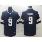 Dallas Cowboys #9 Jaylon Smith Blue Vapor Limited Jersey