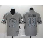 NFL Dolphins #13 Dan Marino 2019 Gray Gridiron Gray Vapor Untouchable Limited Jersey