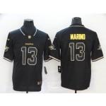 NFL Miami Dolphins #13 Dan Marino Black Gold Edition Jersey