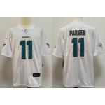 NFL Miami Dolphins #11 Parker white Vapor Untouchable Limited Jersey