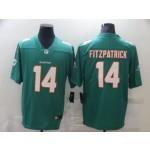 Nike Dolphins #14 Ryan Fitzpatrick Aqua Vapor Untouchable Limited Jersey