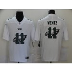 Nike Eagles #11 Carson Wentz White Shadow Logo Limited Jersey