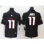 NFL Falcons Jones #11 black ATL Jersey