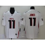 NFL Falcons Jones #11 white ATL Jersey