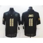 Nike Falcons #11 Julio Jones Black Camo 2020 Salute To Service Limited Jersey