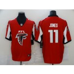 Nike Falcons #11 Julio Jones Red Team Big Logo Vapor Untouchable Limited Jersey