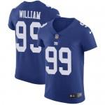 Men's New York Giants #99 Leonard Williams Royal Blue Team Color Stitched NFL Vapor Untouchable Jersey