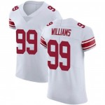 Men's New York Giants #99 Leonard Williams White Stitched Vapor Limited Jersey