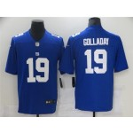 New York Giants #19 Kenny Golladay Blue Vapor Limited Jersey