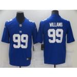 New York Giants #99 Leonard Williams Blue Vapor Limited Jersey