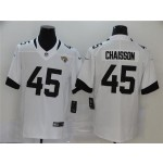 Nike Jaguars #45 K'Lavon Chaisson White 2020 NFL Draft First Round Pick Vapor Untouchable Limited Jersey