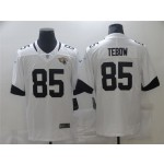 Jacksonville Jaguars #85 Tim Tebow White Vapor Limited Jersey