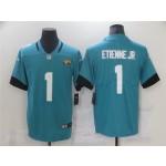 Jacksonville Jaguars #1 Travis Etienne Teal Vapor Limited Jersey