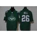 NFL Jets #26 Le'Veon Bell Green Team Big Logo Vapor Untouchable Limited Jersey