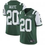 Men's Jets #20 Marcus Maye Green Vapor Untouchable Limited Jersey