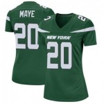 Women's Jets #20 Marcus Maye Green Team Color Stitched Football Vapor Untouchable Limited Jersey