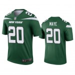 Men's Jets #20 Marcus Maye Green Team Color Stitched Football Vapor Untouchable Limited Jersey