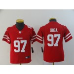 NFL Youth 49ers Bosa #97 red Jersey