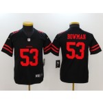 NFL Youth San Francisco 49ers  NaVorro Bowman #53 black Jersey