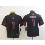 NFL Youth Arizona Cardinals Kyler Murray #1 black Rush Limited Jersey