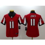 NFL Youth Falcons Julio Jones #11 red Jersey