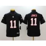 NFL Youth Falcons Julio Jones #11 black Jersey