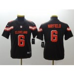 NFL Youth Cleveland Browns Baker Mayfield #6 brown Jersey