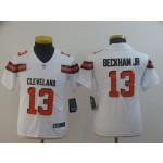 NFL Youth Cleveland Browns Beckham Jr #13 White Jersey