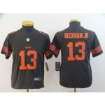 NFL Youth Browns Beckham Jr #13 brown Rush Limited Jersey