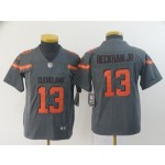NFL Youth Browns Beckham Jr #13 Grey Inverted Legend Jersey