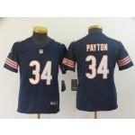 NFL Youth Bears Walter Payton #34 blue Jersey