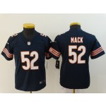 NFL Youth Bears Khalil Mack #52 blue Jersey