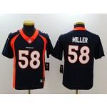 NFL Youth Broncos Von Miller #58 Blue Jersey