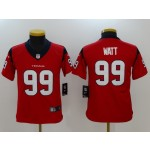 NFL Youth Houston Texans J.J. Watt #99 red Jersey