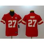 NFL Youth Kansas City Chiefs Kareem Hunt #27 red Jersey