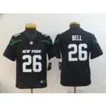 NFL Youth New York Jets Le'Veon Bell #26 black 2019 Jersey