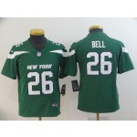 NFL Youth New York Jets Le'Veon Bell #26 Green 2019 Jersey