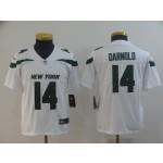 NFL Youth New York Jets Sam Darnold #14 White 2019 Jersey
