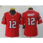 NFL Youth New England Patriots Tom Brady #12 Red Jersey