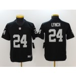 NFL Youth Oakland Raiders Lynch #24 black Jersey