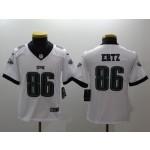 NFL Youth Philadelphia Eagles Ertz #86 white Jersey