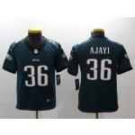 NFL Youth Philadelphia Eagles Ajayi #36 Green Jersey