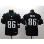 NFL Youth Philadelphia Eagles Ertz #86 Black Jersey