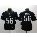 NFL Youth Philadelphia Eagles Long #56 Black Jersey